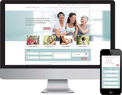 Web Design For Dr. White Frisco, TX