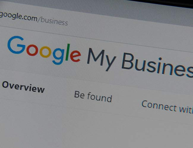 google my business thumb