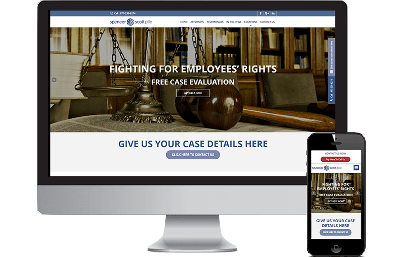 New Web Design for Dallas Law Firm
