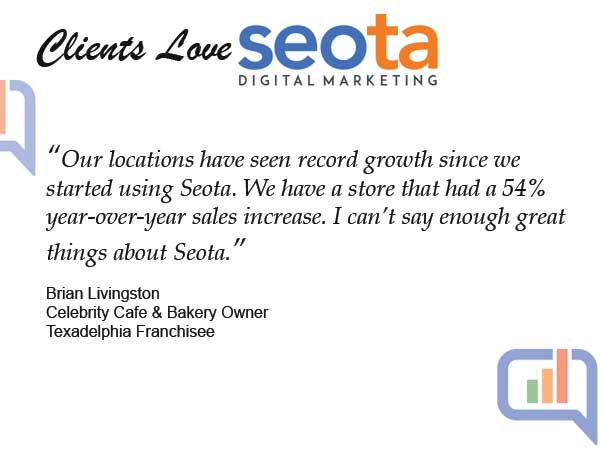 Clients Love Seota Digital Marketing