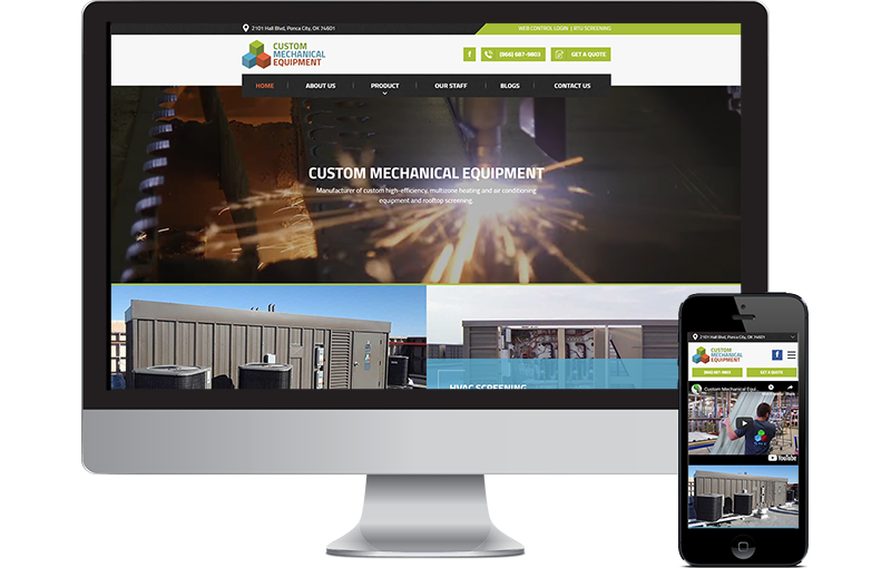 Website Design for Manufacturing Business