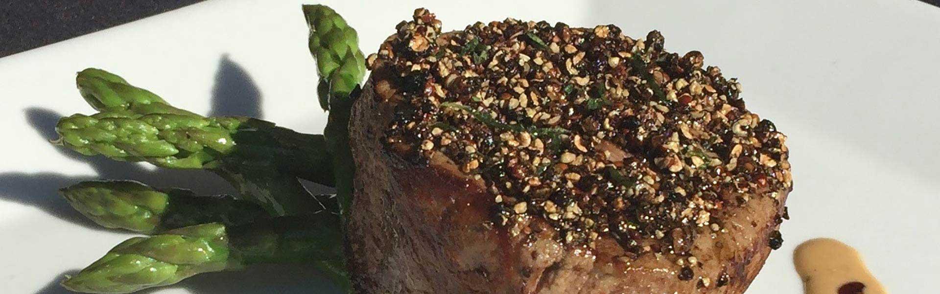Restaurant Website Design for Chamberlain's Steak and Chop