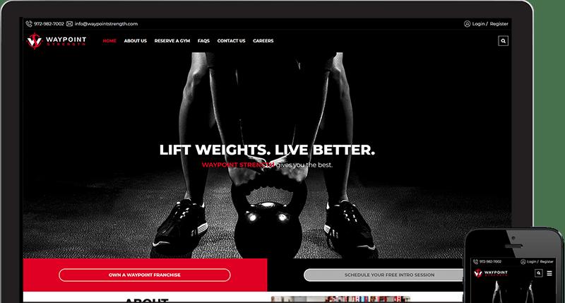 Frisco Gym Way Point Strength Website