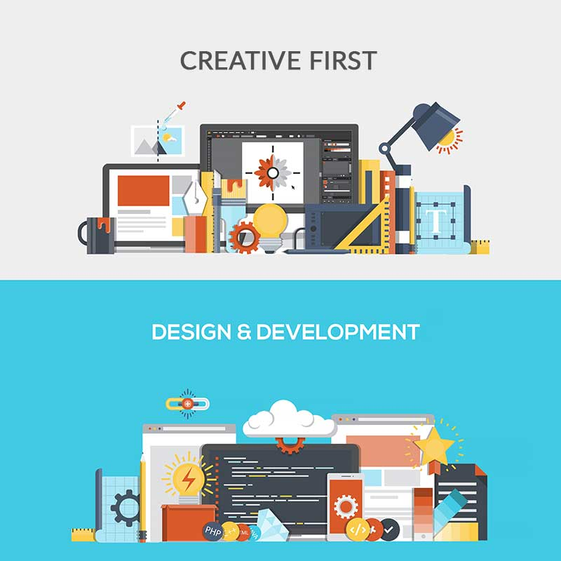 creative website design for WordPress