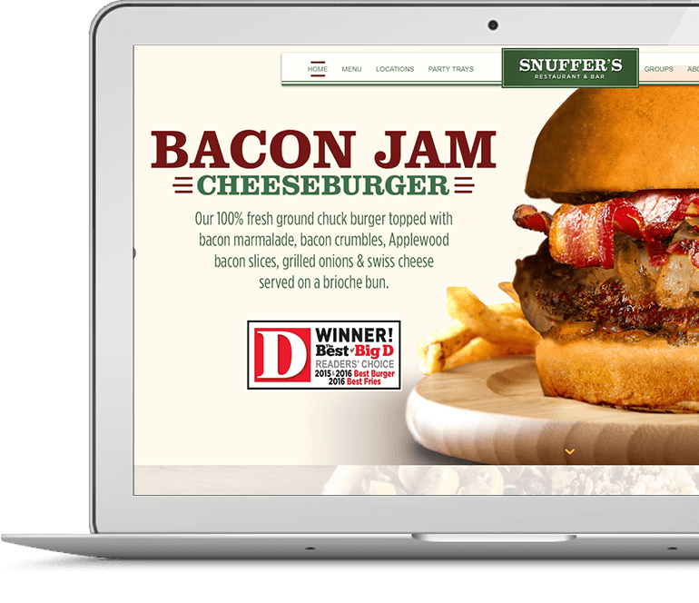 Restaurant Website Design in Wordpress