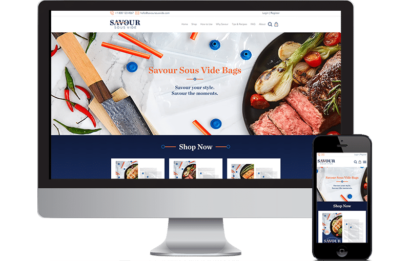 Shopify for Cooking eCommerce by Seota Digital Marketing Frisco TX - Phoenix AZ - Dallas TX