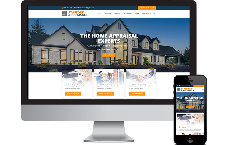 Home Appraisal WordPress Site