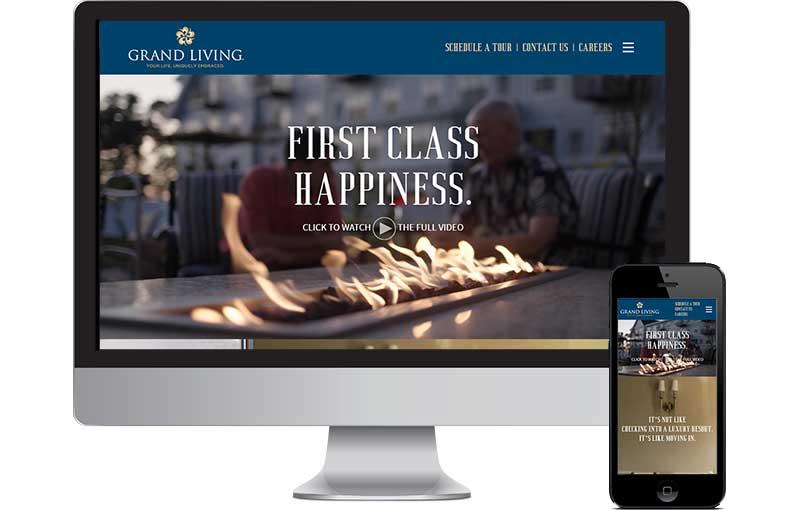 Senior Living Web development
