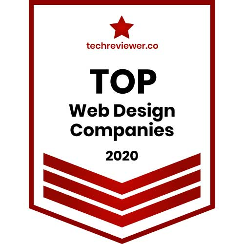 Best Web Designer Badge 2020