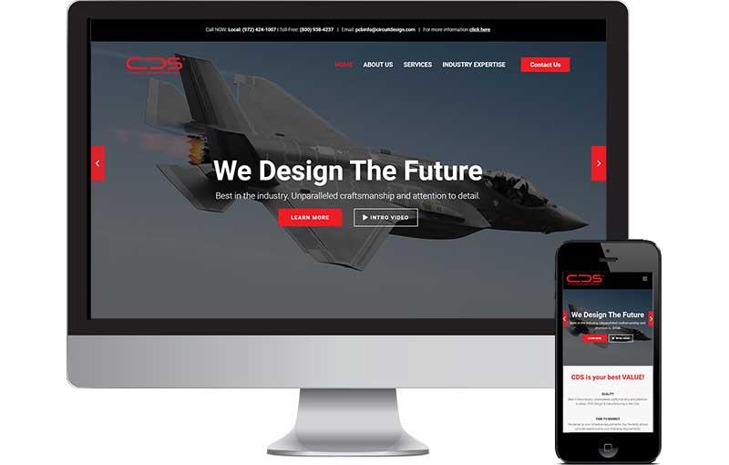 B2B Web Design Circuit Manufacturer
