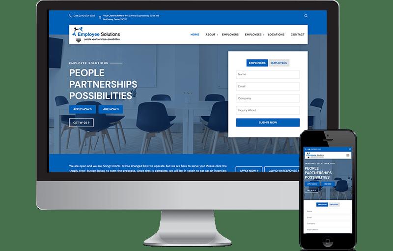 Employee Website Design