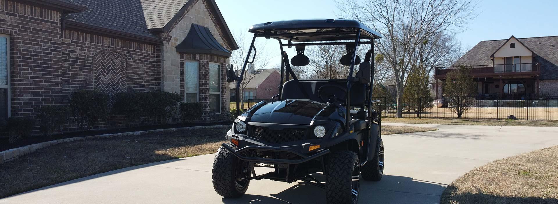 Golf Cart Website Design