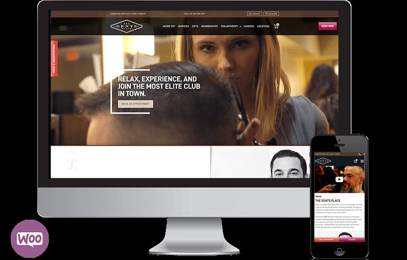 Frisco Business Website for Celebrity