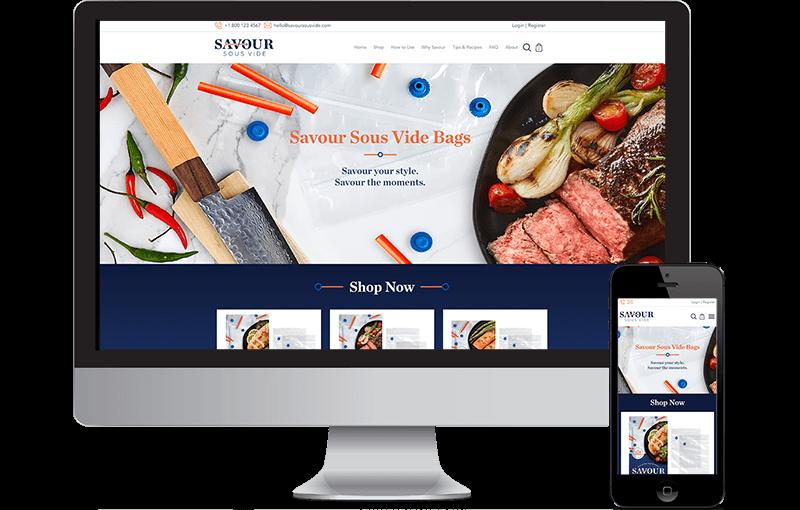 Shopify eCommerce Design Website