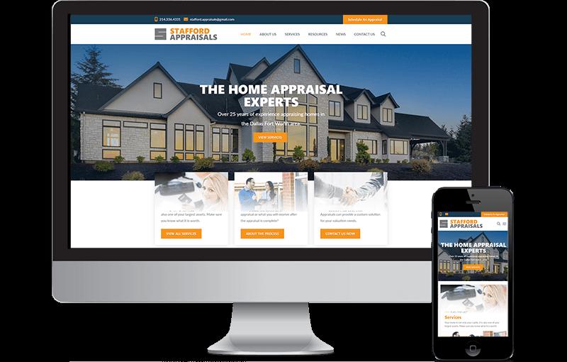 Home Appraisal WordPress Site