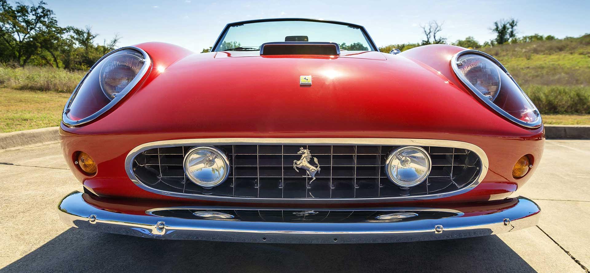 website design for Ferrari Online