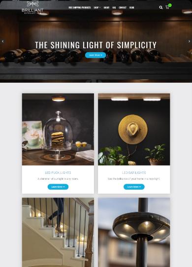 Headless Commerce Web Design by Seota