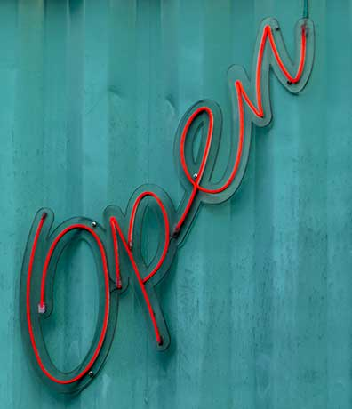 Helping clients open up for business