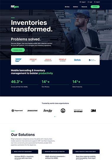 Web Design for Software Company by Seota