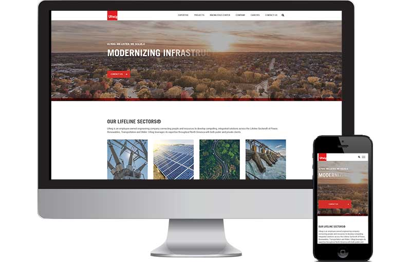 Engineering Website Development